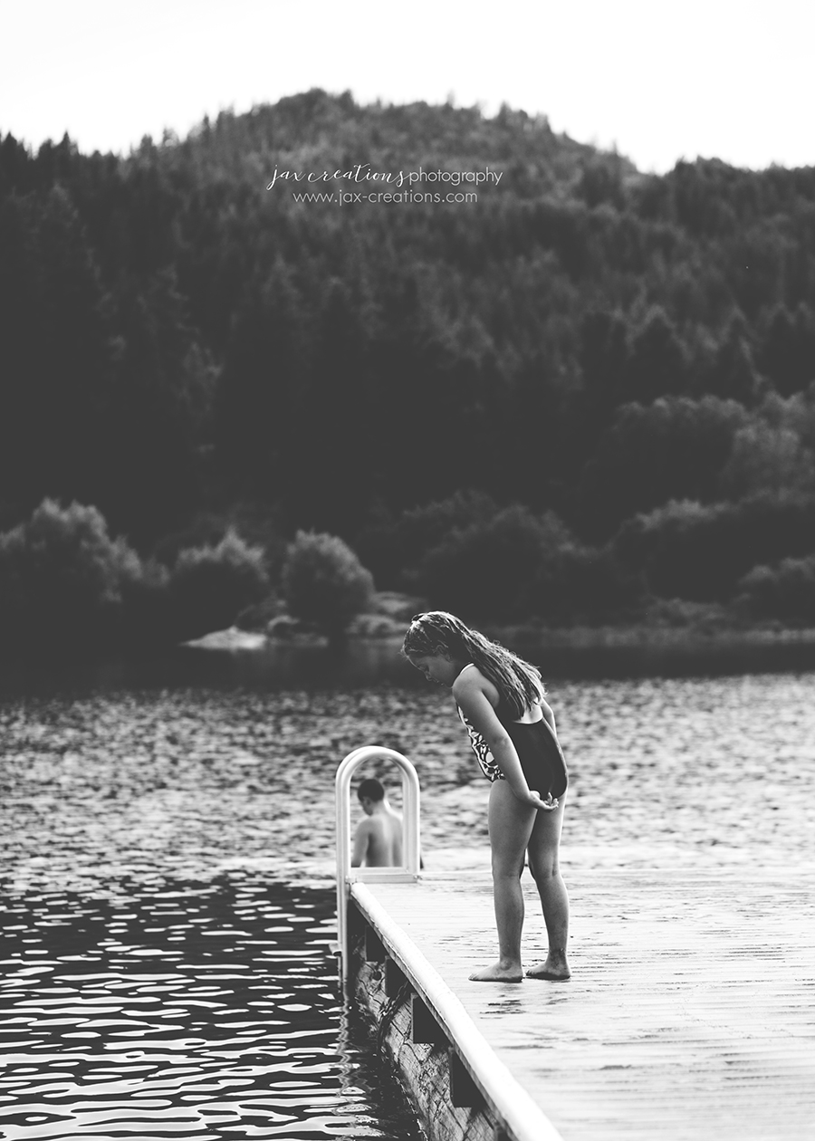 Jax Creations Photography, family photographer, spirit lake idaho, coeur d'alene idaho, lake, swimming