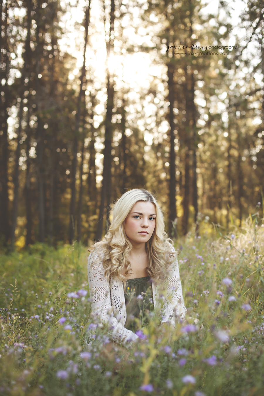 Spirit Lake Idaho, Coeur d'Alene Idaho, senior photography