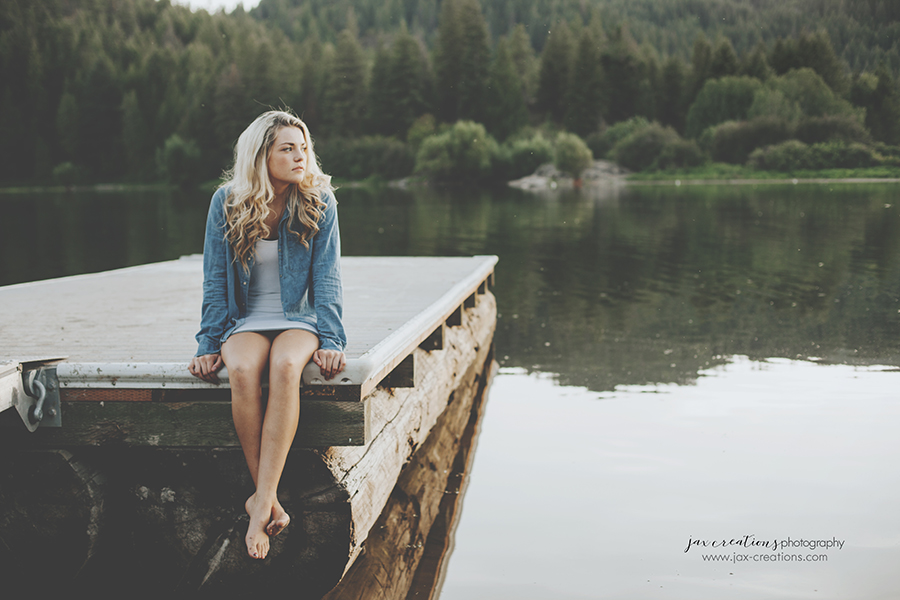 Jax Creations Photography, Spirit Lake Idaho, Coeur d'Alene Idaho, senior photography