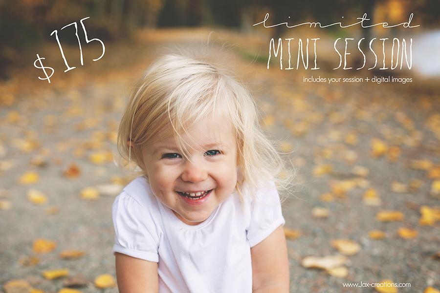 Sandpoint, coeurd'alene idaho, spirit lake, family sessions, child sessions, fall
