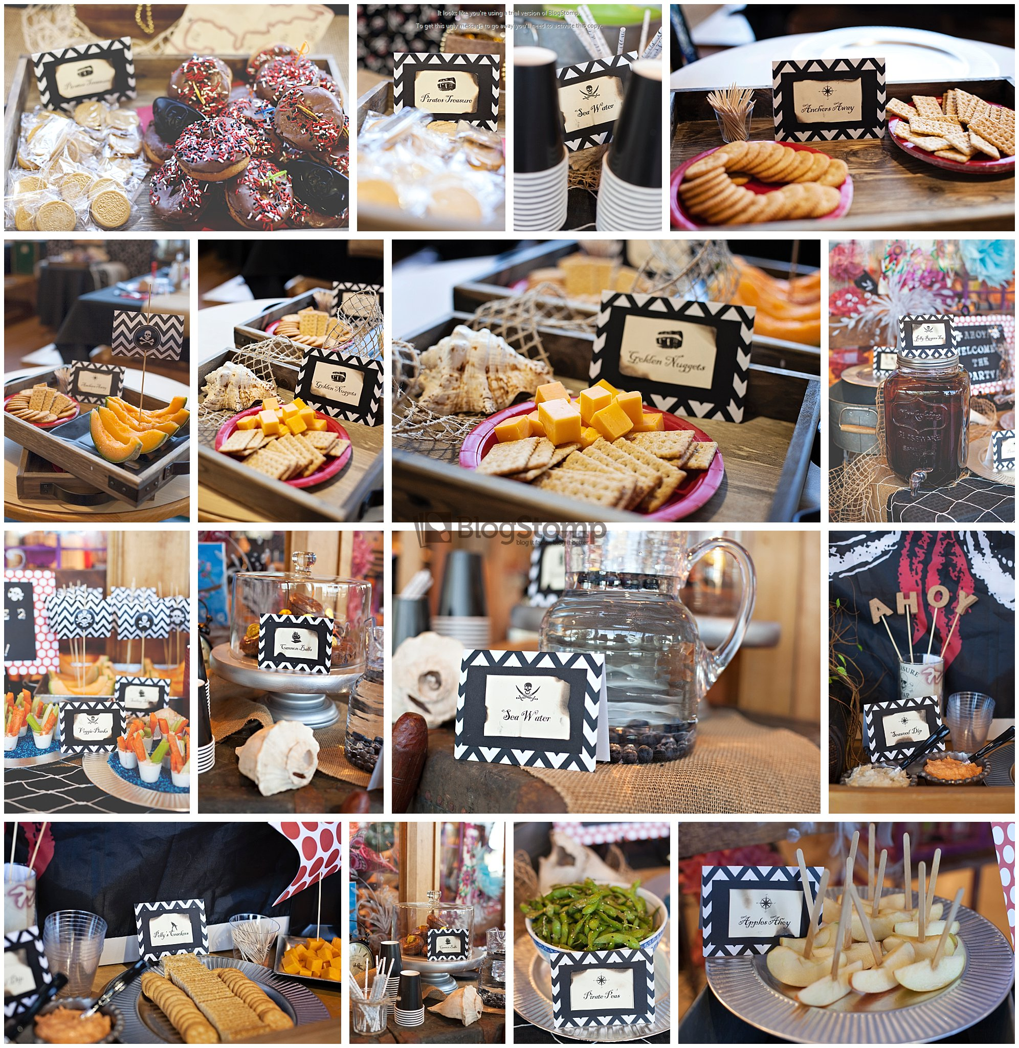 Jax Creations Photography, pirate party, food, blooming event designs, ds connections, sandpoint idaho