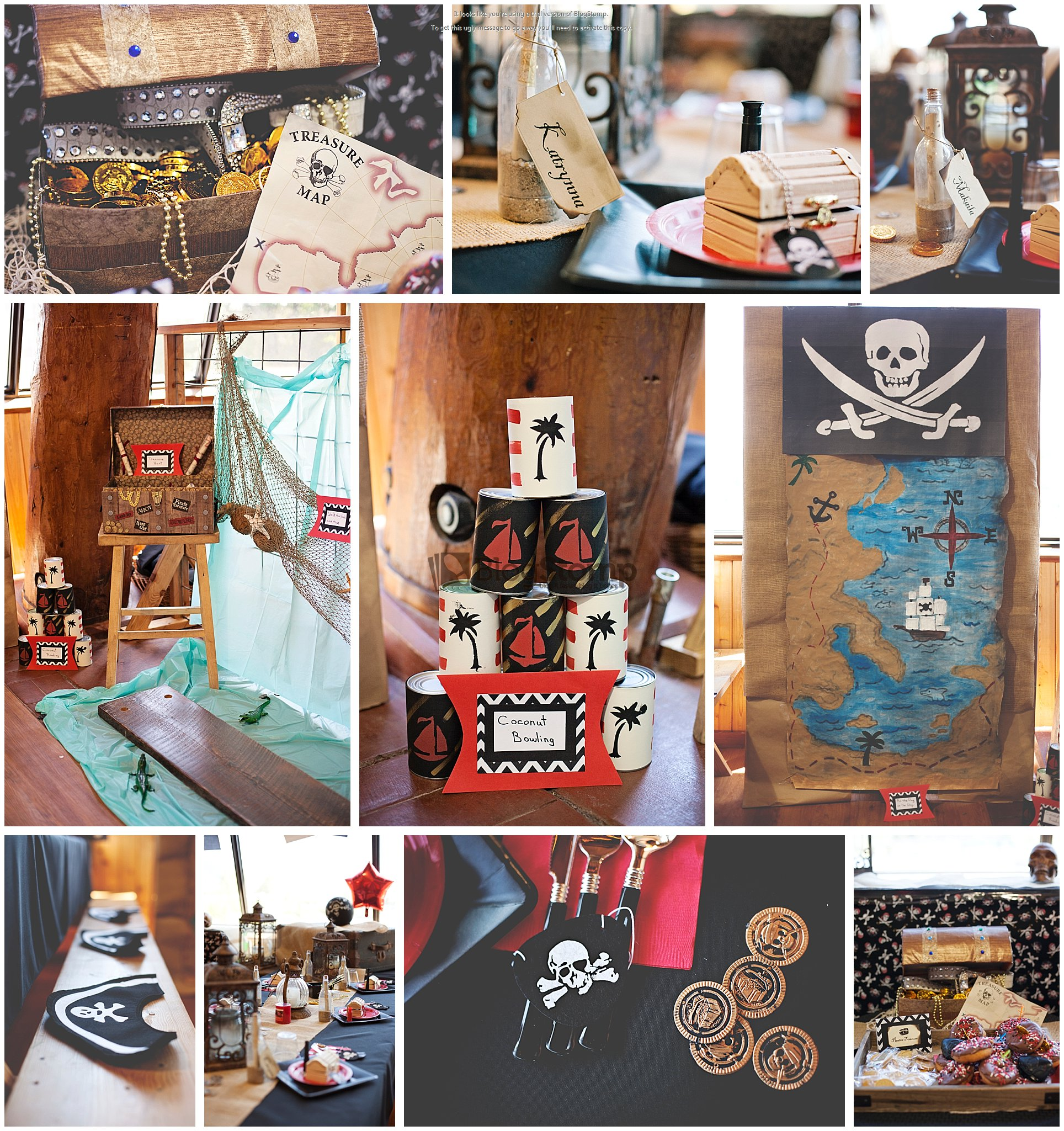 Jax Creations Photography, pirate party, pirate decorations, sandpoint idaho,