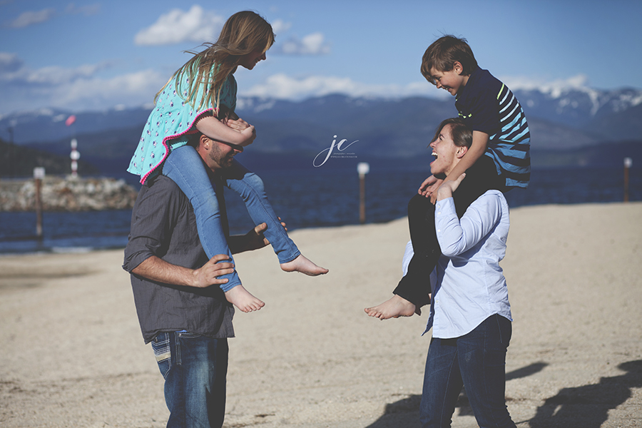 family photographer, sandpoint idaho, city beach